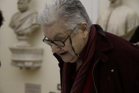 Giulia Niccolai alla Mostra