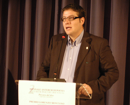Matteo Bragantini Assessore alla cultura della Provincia