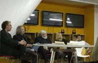 Giorgio Celli, Maria Luisa Vezzali, Gilberto Isella