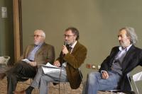 Gio Ferri, Ranieri Teti e Flavio Ermini