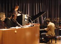 Francesco Bellomi al piano