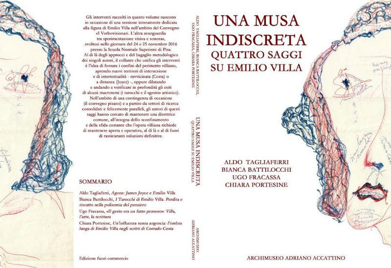 """Bianca Battilocchi intervistata da Giorgiomaria Cornelio a proposito di  """"Una musa indiscreta"""" (quattro saggi su Emilio Villa) 9b76f1b70fe3"""