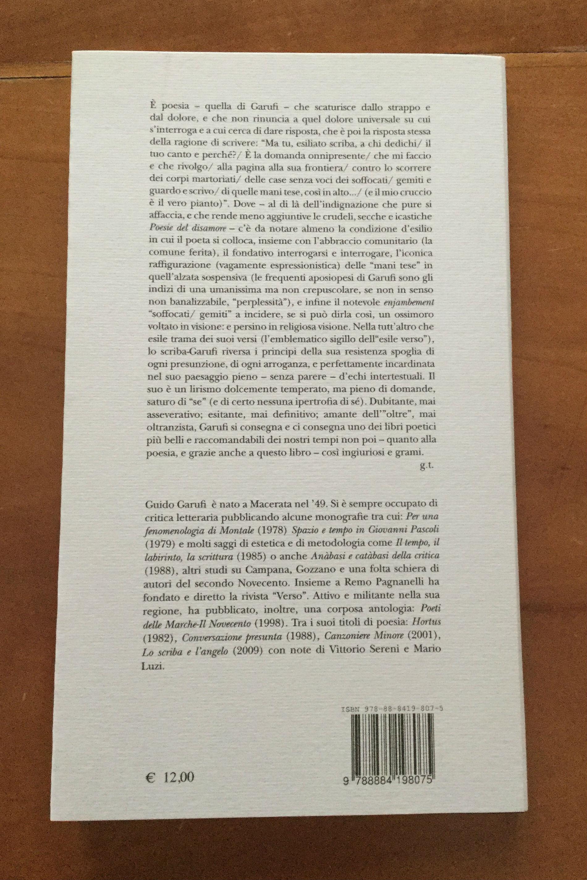 Fabia Ghenzovich Poesia Inedita Nudità Premessa Di Ranieri Teti