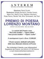 Premio Lorenzo Montano: XXII edizione