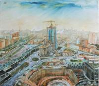 Moscow-city under construct