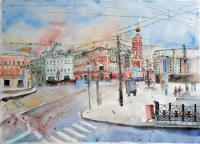 Moscow Petrovka street