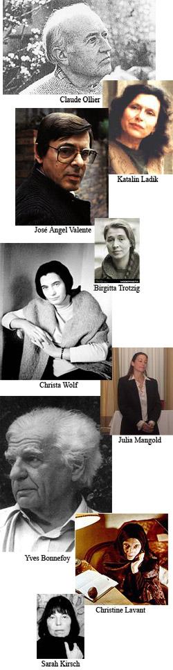 Poesia Contemporanea Europea: autori