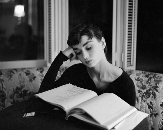 Audrey-Reading